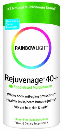 RAINBOW LIGHT - REJUVENAGE MULTI VITAMINES - ANTI VIEILLISSEMENT 40 ANS ET PLUS - 90 CAPSULES