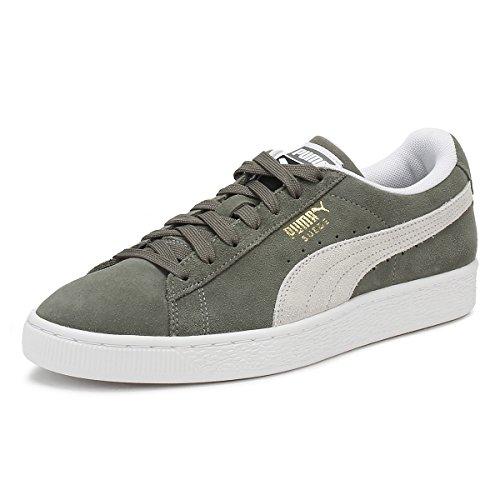 Puma Heren Wiel Grijs Suède Klassieke Sneakers