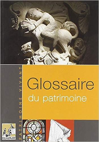 Châtelain André Patrimoine Livres Glossaire Du 0wNmv8n