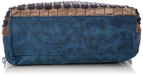 T Maletín Blau Bolsos X H Lottie Handbag Bulaggi 10x37x34 b Mujer Cm ptqHWAwP