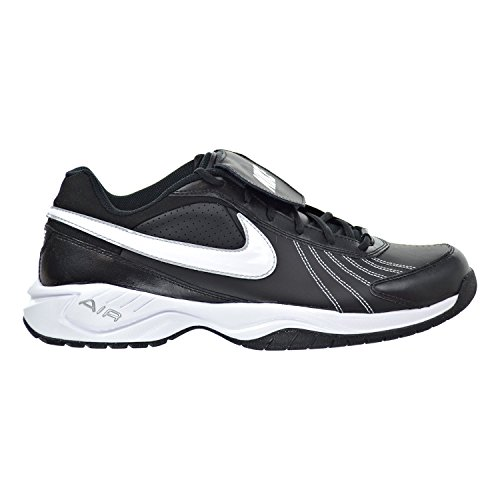 Nike Air Diamond Trainer Men's Shoes Black/White/Metallic Silver 333785-012 (14 D(M) US)