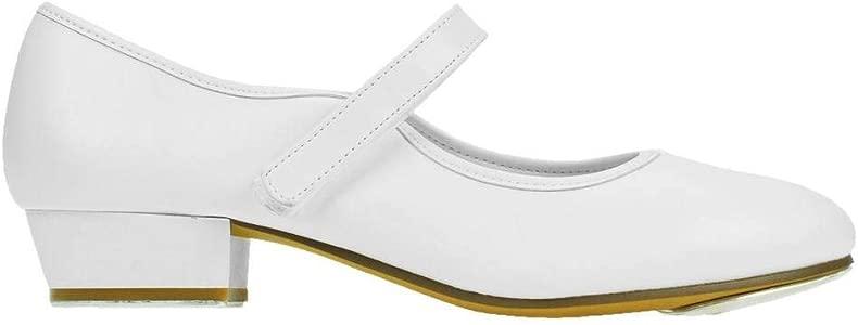Starlite Backflip PU Strap Tap Shoe Low Heel