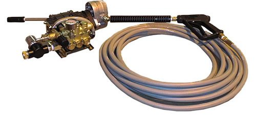 Cam Spray 404HYD Base Mount Hydraulic Powered Cold Water Pressure Washer, 4000 psi, 50' Hose from Cam Spray