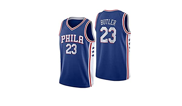 WAZ Camiseta Baloncesto NBA City Edition 76ers # 23 Butler ...