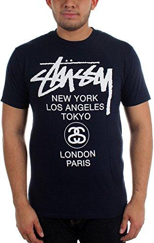 Stussy Men's World Tour T-Shirt