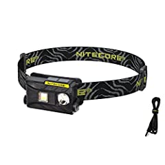 The NITECORE NU25 utilizes three light sources (white, red and high CRI) to create a versatile and lightweight headlamp you'll find endless uses for. A powerful CREE XP-G2 S3 LED capable of 360 lumen and a 88 yard throw serves as the main out...