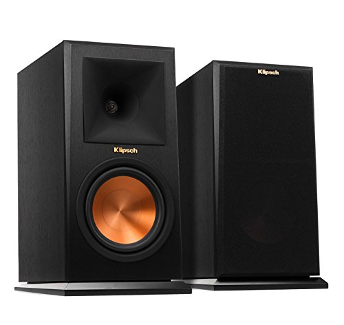 - Klipsch RP-160M  Bookshelf Speaker - Ebony (Pair)