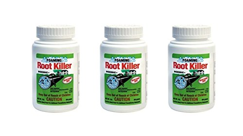 Roebic FRK Foaming Root Killer, 1-Pound Pack of -