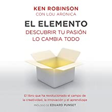 El elemento Audiobook by Sir Ken Robinson, Lou Aronica Narrated by Carles Lladó Zaro