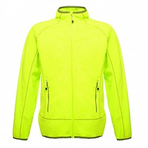Regatta Professional Mens Ashmore Full Zip Fleece (XL) (Lime Green/Racing Green)