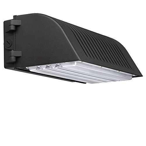1000LED 70 Watt LED Full Cutoff Wall Pack Fixtures 7,200 Lumens 300-400W Equal HID/HPS 5000K Waterproof IP65 AC100-277V with UL DLC Certificate 5 Years Warranty by 1000LED