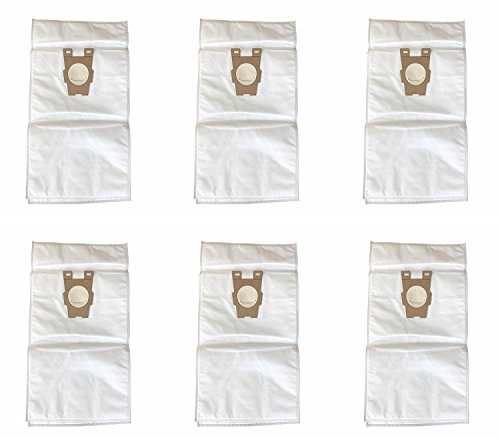 Style F HEPA Filtration Vacuum Bags Replacement for Kirby similar to Part#204808 / 204811 for Sentria Models, Pack of 6 (Kirby F Vacuum Bags compare prices)