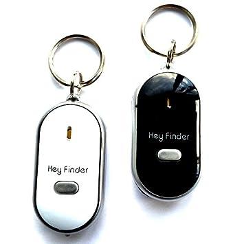 2x Schlüsselfinder Led-lampe Schlüsselanhänger Key Finder Schlüsselsucher