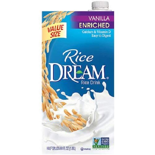 Rice Dream Organic Drink Vanilla, 64 Fluid Ounce (pack Of 6)