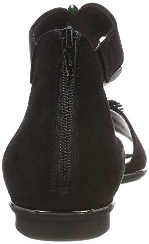 Gabor Signore Adatta I Sandali Con Il Cinturino Nero (nero)