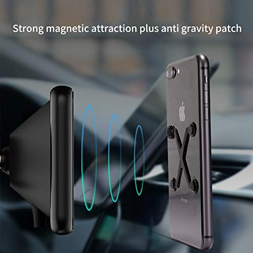 Magnetic Wireless Car Charger,Gblesin 5W 7.5W 10W Qi Fast Charging Car Charger Magnetic Car Mount Air Vent for iPhone 11 Pro X XS MAX XR 8 Plus and Samsung Galaxy S10 Plus/S10/S9+/S8+ and More