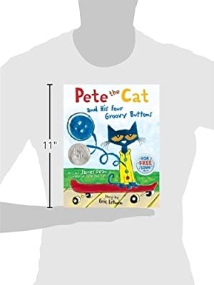 Pete The Cat And His Four Groovy Buttons James Dean Eric Litwin