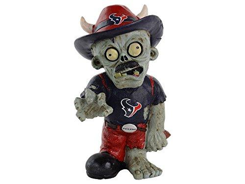 NFL 2014 Team Logo Resin Thematic Zombie Figurine - Pick Team (Houston Texans)