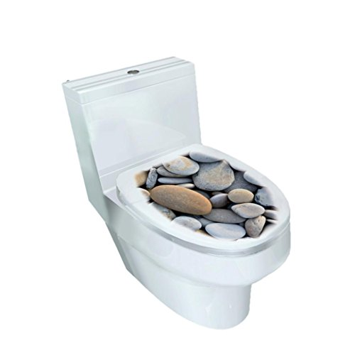 Hatop New Fashion Toilet Seat Vinyl Art Bathroom Decals Decor - Store York Photo New B&h