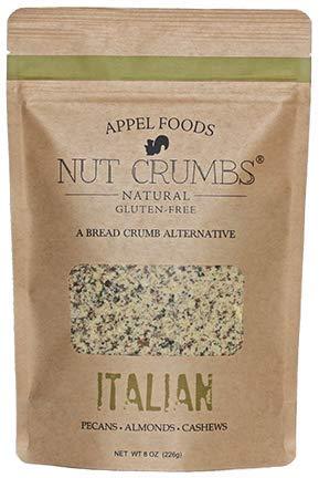 - Nut Crumbs (Italian Nut Crumbs) Gluten Free, Paleo, Keto Friendly bread crumb alternative