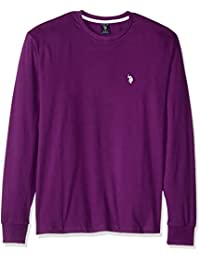 U.S. Polo Assn........... Men's Long Sleeve Crew Neck T-Shirt