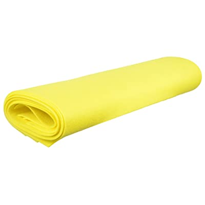 Shammy Cloth Chamois Absorbent Cleaning Towel 20 x 27 for Home Car Truck RV - Yellow: Automotive