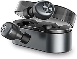 ZNT Airfits 完全ワイヤレスイヤホン 自動ペアリング 左右分離型 Bluetooth イヤホン 高音質 イヤホン