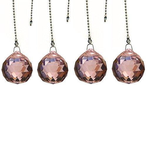crystal ceiling fan pull chain - 7