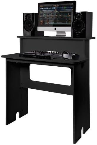 Glorious Digital Estación de mezclas 2 niveles mueble DJ: Amazon ...