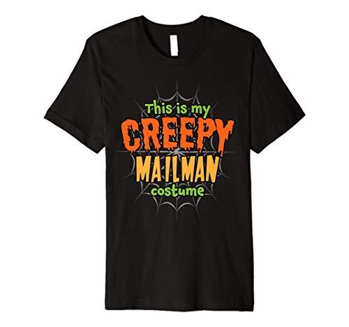 Creepy Mailman Costume Premium Halloween