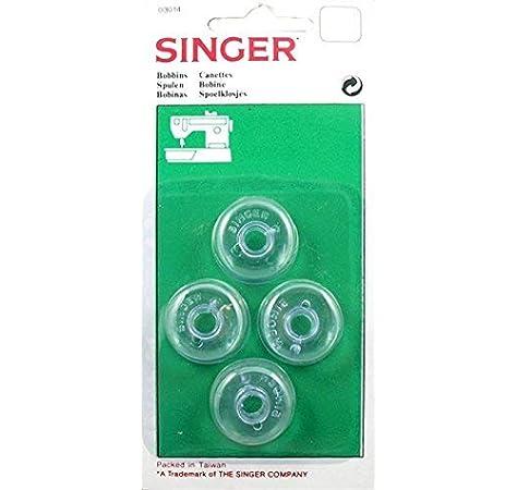 Levivo Bobina para máquina de coser, transparente, 10 bobinas de ...