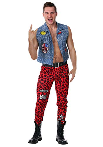 Mens 80's Rocker Costume Large ()