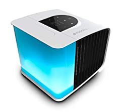 evaSMART is a personal air cooler that creates your local microclimate. Evapolar is a 4 in 1 device: it cools, humidifies, and cleans the dust particles from the air making it healthier for you. This portable air conditioner has various Smart...