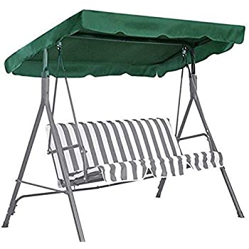 Amazon Com Ddanke Patio Swing Cushion Cover Swing Seat