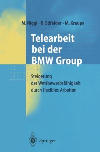 Telearbeit bei der Bmw Group (German Edition)