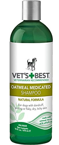 Vet's Best Oatmeal Medicated Dog Shampoo, 16 oz ()