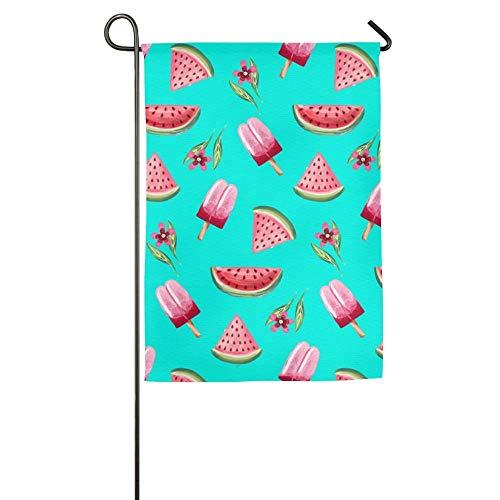 NOAID Custom Garden Flag Hello Summer Fruits Garden Flag 12