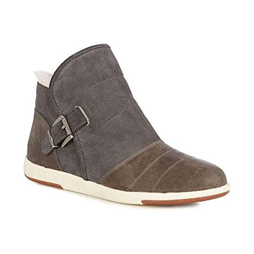 Emu Australia Emu Bardo pour femme en daim cheville bottes–Gris anthracite–w11338 Charbon WqyTBpywUo
