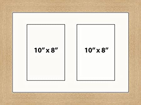 Kwik Picture Framing | MULTI APERTURE PHOTO FRAME FITS 2 10 x 8 ...