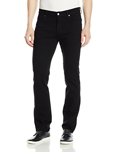 7 For All Mankind Men's Standard in, Timeless Black, 36