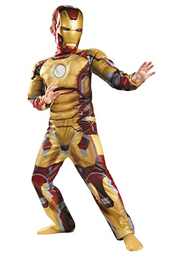 [Iron Man Mark 42 Avengers Chld] (Iron Man Mark 42 Costume For Sale)