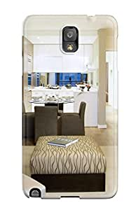 New Premium Flip Case Cover Living Area Skin Case For Galaxy Note 3