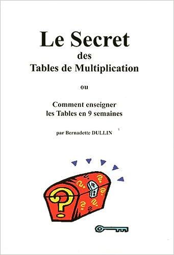 Le Secret Des Tables De Multiplication Ou Comment Enseigner Les