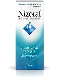 Nizoral A-D Anti-Dandruff Shampoo with Ketoconazole 1%, Dry Itchy Scalp Shampoo for Dandruff Control & Relief, 7 fl. oz