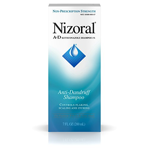 Nizoral Anti-dandruff Shampoo With Ketoconazole 1%, Original Version, 7 Ounce