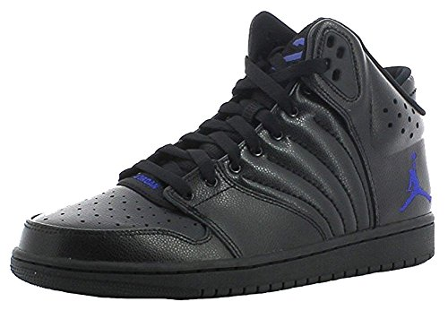 nike Air Jordan 1 Flight 4 Mens Hi Top Basketball Trainers 820135 Sneakers Shoes (US 11, ocean fog pure platinum 400)
