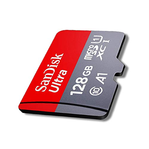SanDisk Ultra microSD UHS-I Card 128GB, 120MB/s R