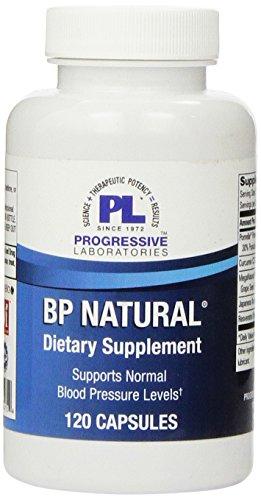 Progressive Labs BP Natural Supplement, 120 Count
