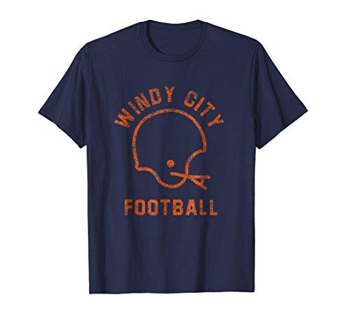 Retro Windy City Chicago Football Shirt
