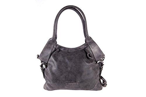 Fritzi aus Preußen - Handtasche FILIPA VINTAGE, black